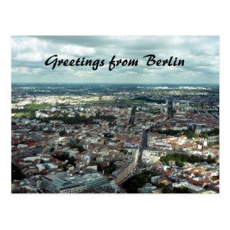 ciudad de Berlín Postal