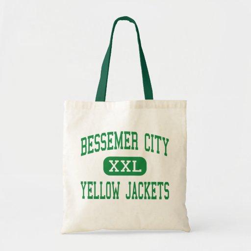 Ciudad de Bessemer - chaquetas amarillas - ciudad  Bolsa