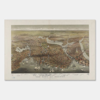 Ciudad de Boston Massachusetts 1873