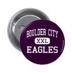 Ciudad de Boulder - Eagles - alta - ciudad Nevada  Pins