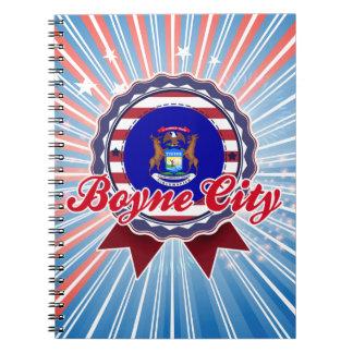 Ciudad de Boyne, MI Cuaderno