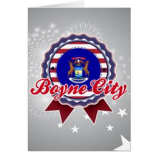 Ciudad de Boyne, MI Tarjeta