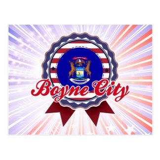 Ciudad de Boyne, MI Tarjeta Postal