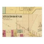 Ciudad de Bridgewater con Shippingport Postales