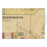 Ciudad de Bridgewater con Shippingport Tarjeta De Felicitación