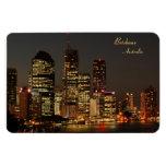 Ciudad de Brisbane, horizonte de la noche, Austrai