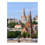 Ciudad de Budapest en Hungría Tarjetas Postales