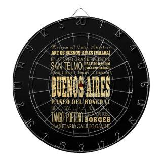 Ciudad de Buenos Aires del arte de la tipografía d