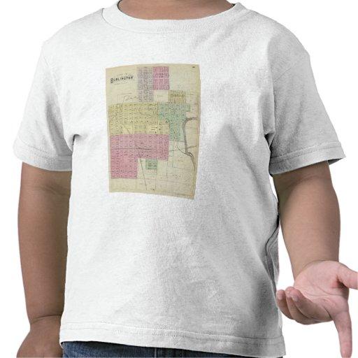 Ciudad de Burlington, el condado de Coffee, Kansas Camiseta