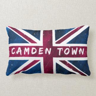 Ciudad de Camden - bandera británica de Union Jack Cojin