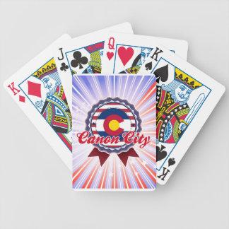 Ciudad de Canon, CO Baraja Cartas De Poker