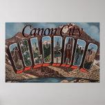 Ciudad de Canon, Colorado - escenas grandes de la  Posters