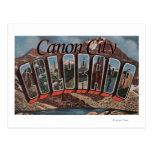 Ciudad de Canon, Colorado - escenas grandes de la Postal