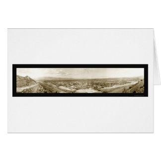 Ciudad de Canon, foto 1909 de Colorado Tarjeta De Felicitación