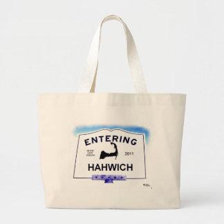 """Ciudad de Cape Cod, Hahwich (Harwich a los """"forast Bolsa Tela Grande"""