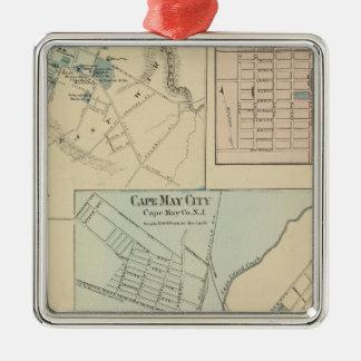 Ciudad de Cape May, Salem, Vineland, Millville Adorno De Navidad