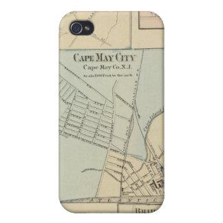 Ciudad de Cape May, Salem, Vineland, Millville iPhone 4 Carcasas