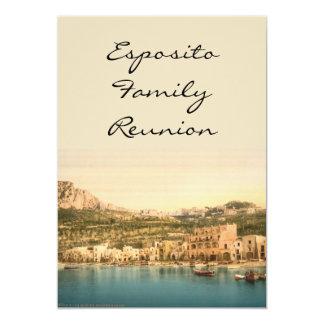 Ciudad de Capri, isla de Capri, Campania, Italia Invitación 12,7 X 17,8 Cm