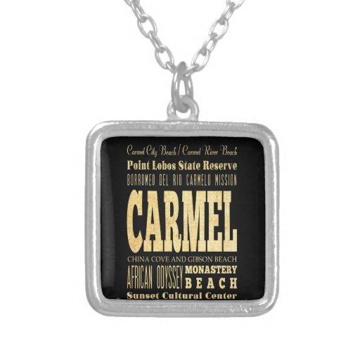 Ciudad de Carmel del arte de la tipografía de Cali Grimpolas