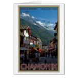 Ciudad de Chamonix Tarjetas