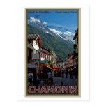 Ciudad de Chamonix Tarjetas Postales