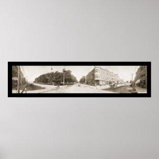 Ciudad de Charles foto 1907 de Iowa Impresiones