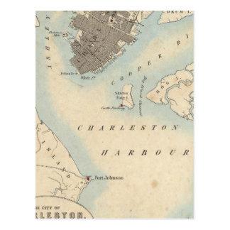 Ciudad de Charleston Carolina del Sur Postales
