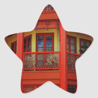 Ciudad de China Pegatina En Forma De Estrella