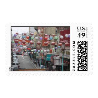 Ciudad de China Sello Postal