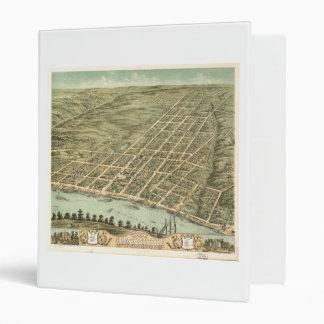 """Ciudad de Clarksville Tennessee (1870) Carpeta 1"""""""