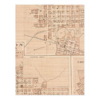 Ciudad de Columbia, Whitley Co Tarjetas Postales