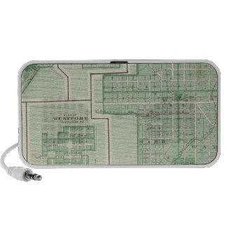 Ciudad de Columbus, Bartholomew Co con Greensburg Laptop Altavoces