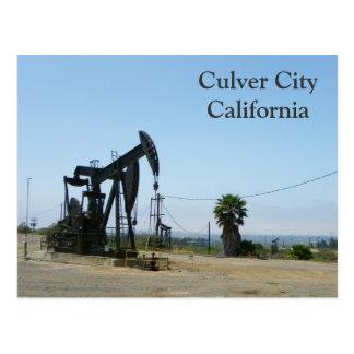 ¡Ciudad de Culver/postal frescas de la plataforma  Postal
