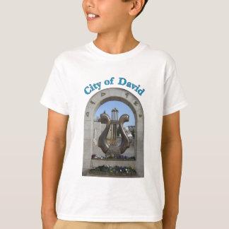 Ciudad de David en Jerusalén, Israel Playera