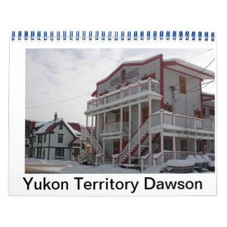 Ciudad de Dawson Calendarios De Pared