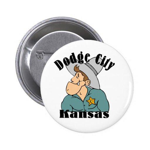 Ciudad de Dodge Pins