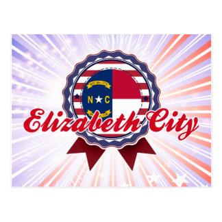 Ciudad de Elizabeth, NC Tarjeta Postal