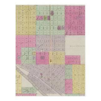 Ciudad de Ellsworth, el condado de Ellsworth, Kans Tarjetas Postales