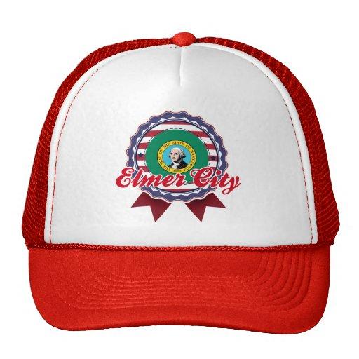 Ciudad de Elmer, WA Gorros Bordados