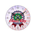 Ciudad de Elmer, WA Reloj