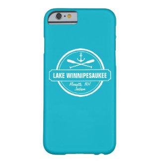 Ciudad de encargo de Winnipesaukee NH del lago, Funda De iPhone 6 Barely There