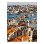 Ciudad de Estambul en Turquía Tarjetas Postales