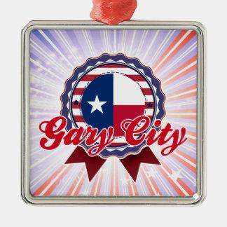 Ciudad de Gary, TX Adornos