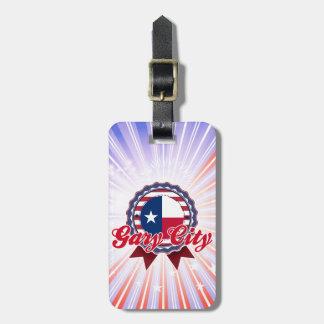 Ciudad de Gary, TX Etiquetas De Maletas