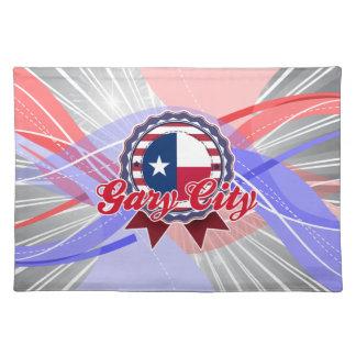 Ciudad de Gary, TX Mantel Individual