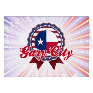 Ciudad de Gary, TX Felicitación