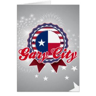 Ciudad de Gary, TX Felicitaciones