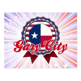 Ciudad de Gary, TX Postales