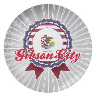 Ciudad de Gibson, IL Plato De Comida