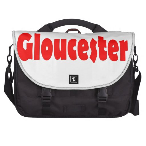 Ciudad de Gloucester en Inglaterra Bolsas De Portátil